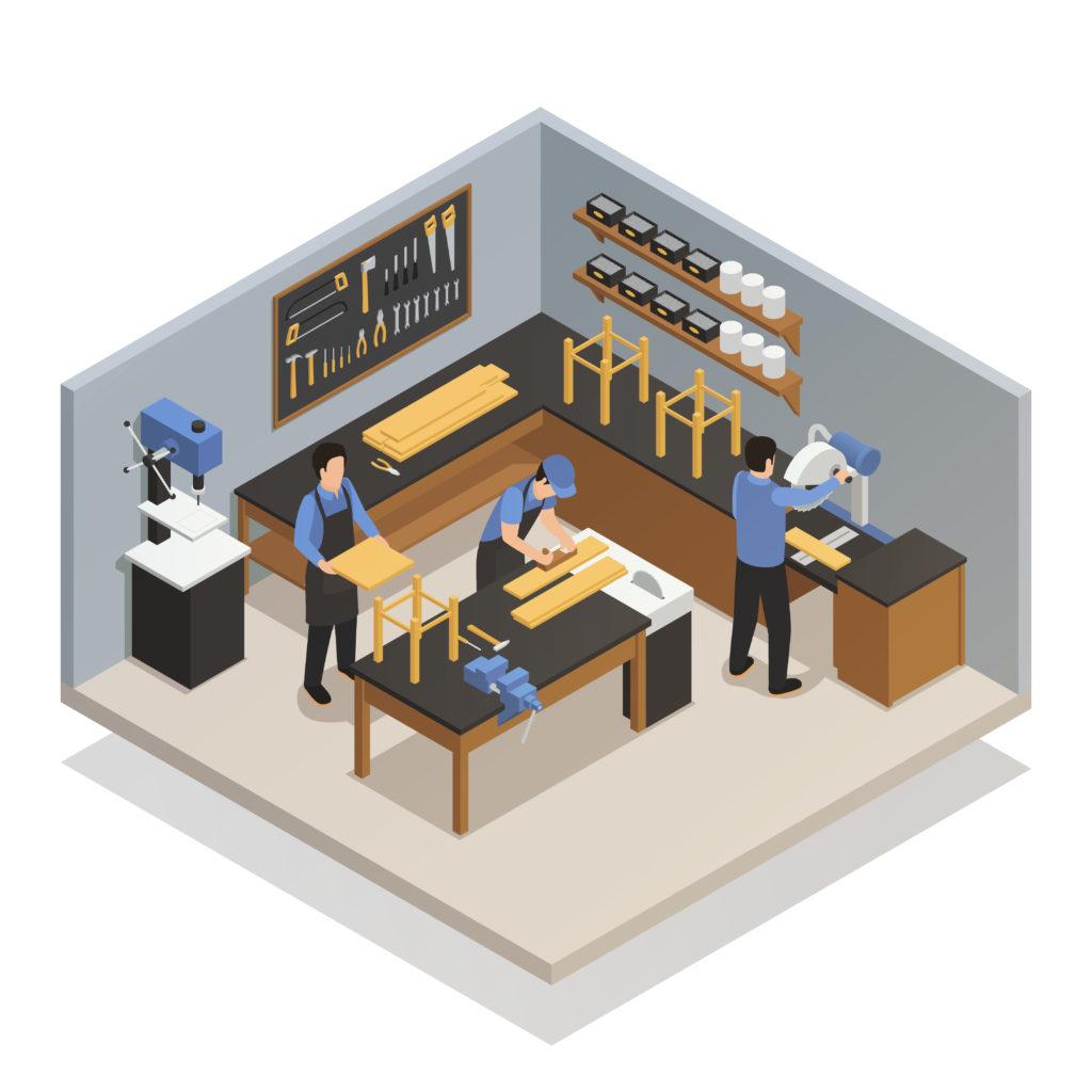 espace de coworking artisan